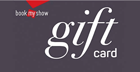 Amazon BookMyShow Offer - Buy BookMyShow Gift Card at Flat 15% Off (All User)