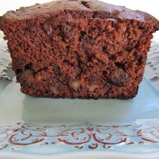 Chocolate Chip-Apple Pound Cake.