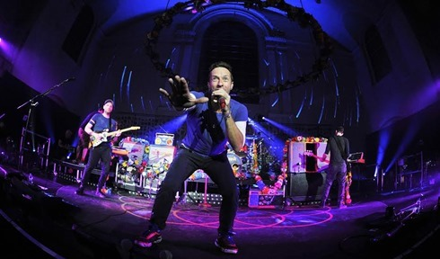 Coldplay BBC Radio 1 Special Show at St John's Hackney Church, London 1