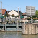 Ecluse de Sevran sur le canal de l'Ourcq