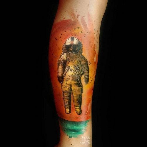 este_incrvel_astronauta_aquarela_tatuagem