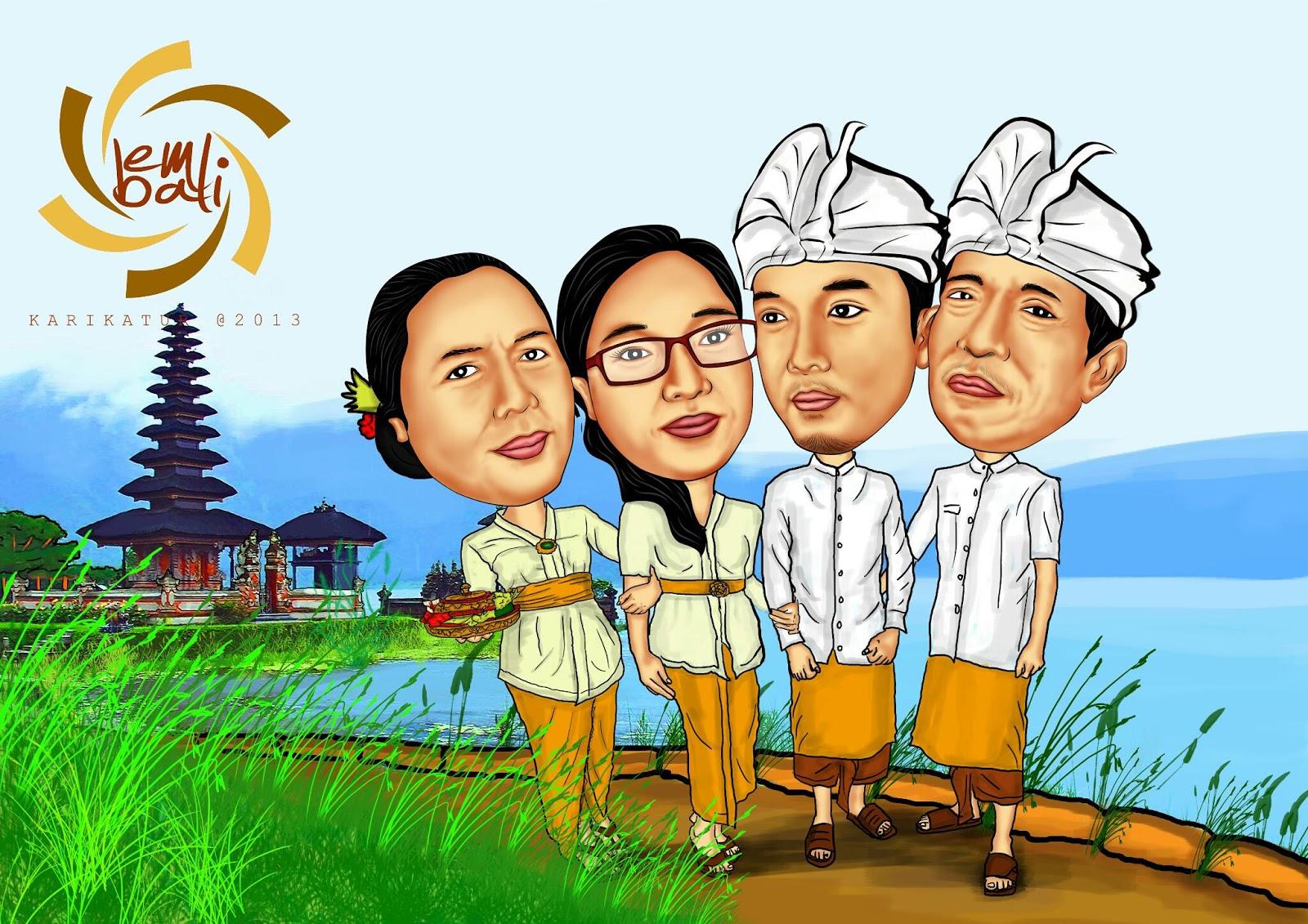 EMbali Karikatur Jasa Karikatur Murah Di Bali