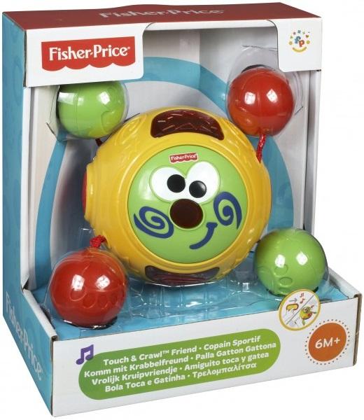 Bóng tập bò Fisher Price Touch & Crawl Friend tuyệt đối an toàn cho bé