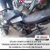 Veículo de mototaxista é encontrado ''depenado''