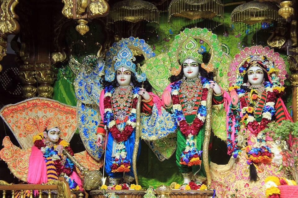 ISKCON Delhi Deity Darshan 08 Jan 2017 (11)