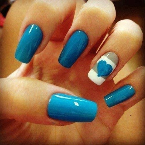 50 pretty blue nails art designs you�ll want to try