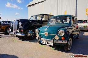 Rolls Royce and Fiat 500