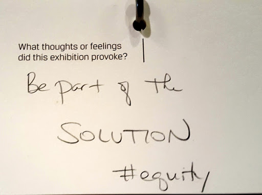 Be part of the solution! From Love, Change, and the Expression of Thought: 30 Americans at the Detroit Institute of Arts