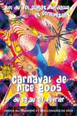 Carnaval de Nice affiche 2005