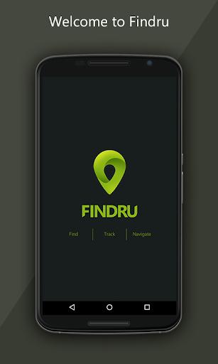Findru -FB Friends Locator app