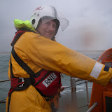 23 September 2012 - rough weather ALB training exercise in Poole Bay.  Photo credit: Poole RNLI/Dave Riley.