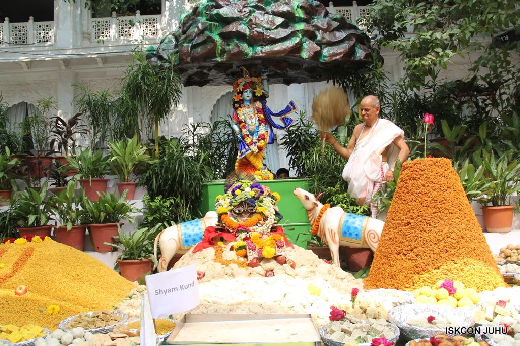 Govardhan Annakut Darshan  At ISKCON Juhu on 31st Oct 2016 (1)