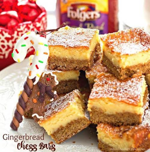 Gingerbread Chess Bars In just 5 easy steps you'll have one festive...