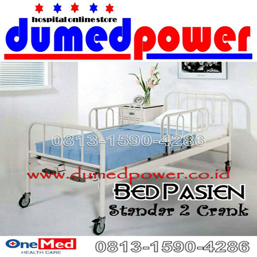 Bed+Pasien_2Crank_OneMed