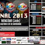 Final Nacional/Internacional/Europea 2013 Mengíbar (Jaén) 9/10 Noviembre 2013