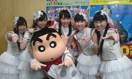 Momoiro Clover Z & Shin-chan