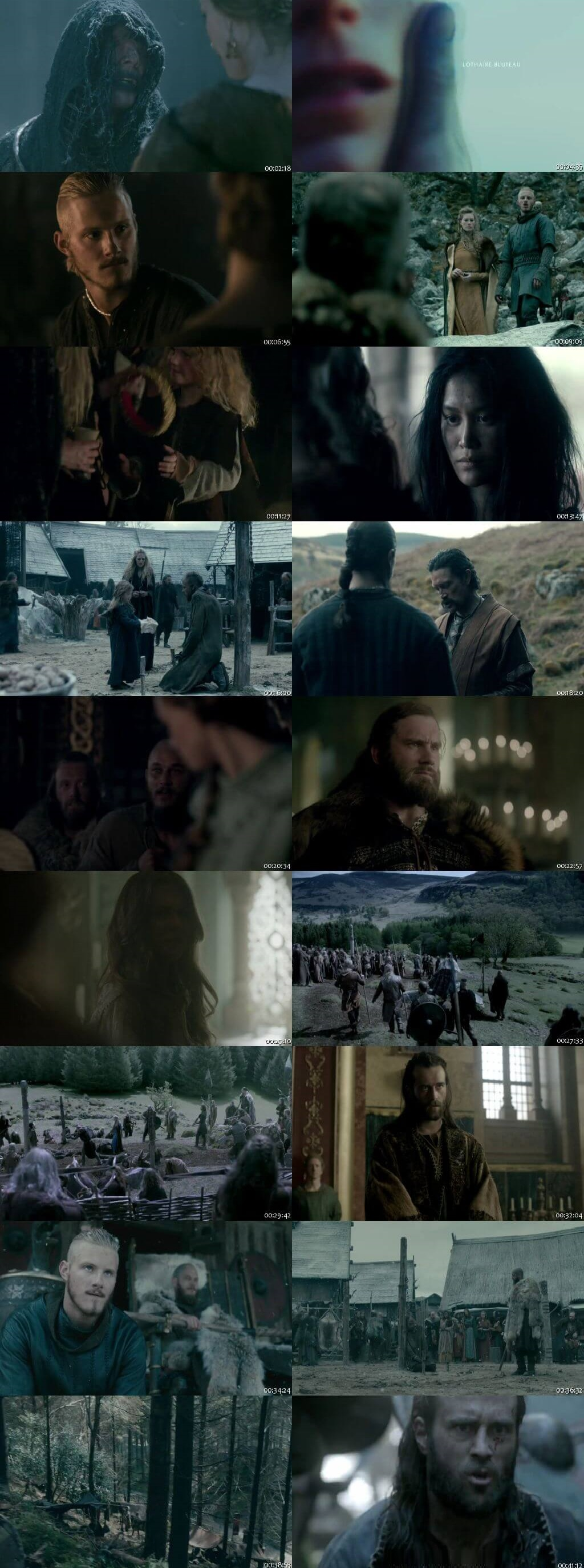 Screenshots Of Hindi Dubbed Show Vikings 2016 - 2017 Season 04 Complete All Episodes 300MB 720P HD