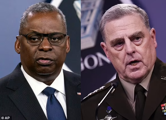 90 retired US generals and admirals call for America's defence chiefs to resign immediately over Afghanistan withdrawal