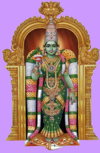 Meenakshi, Gods And Goddesses 3