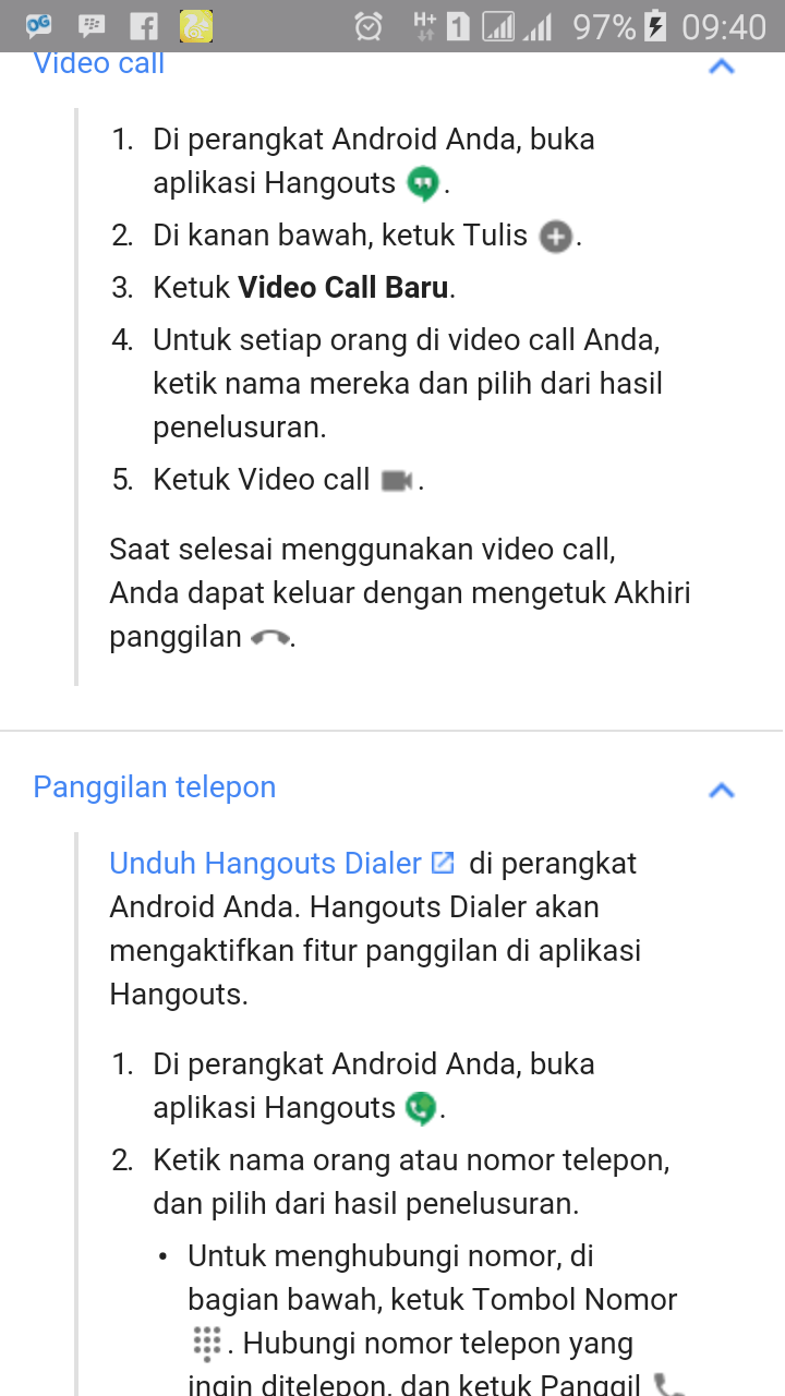 how to make a video call on hangouts