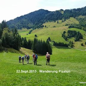 Wanderung Pizalun