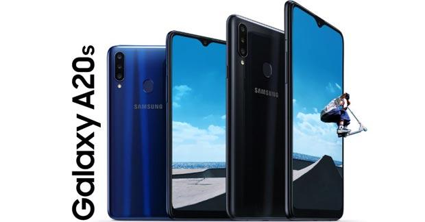 Samsung Galaxy A20s Fitur