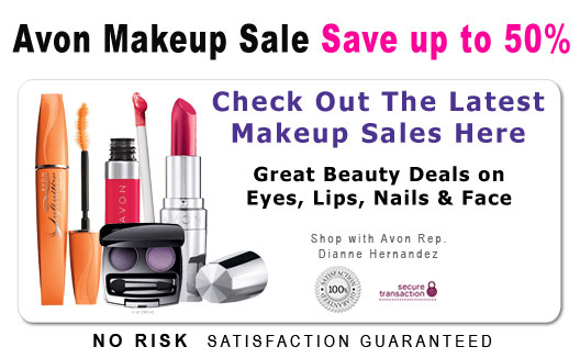 View the latest Avon Makeup Sales Here