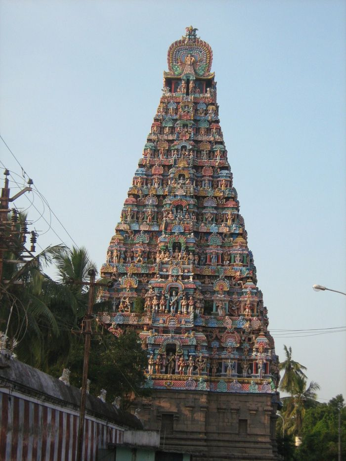 Sri Mayooranadhar Temple, Mayiladuthurai - 275 Shiva Temples