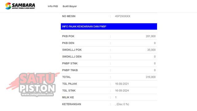 Cek Plat Nomor Online ? Warga Jawa Barat, Berikut Cara Cek Pajak Motor Online