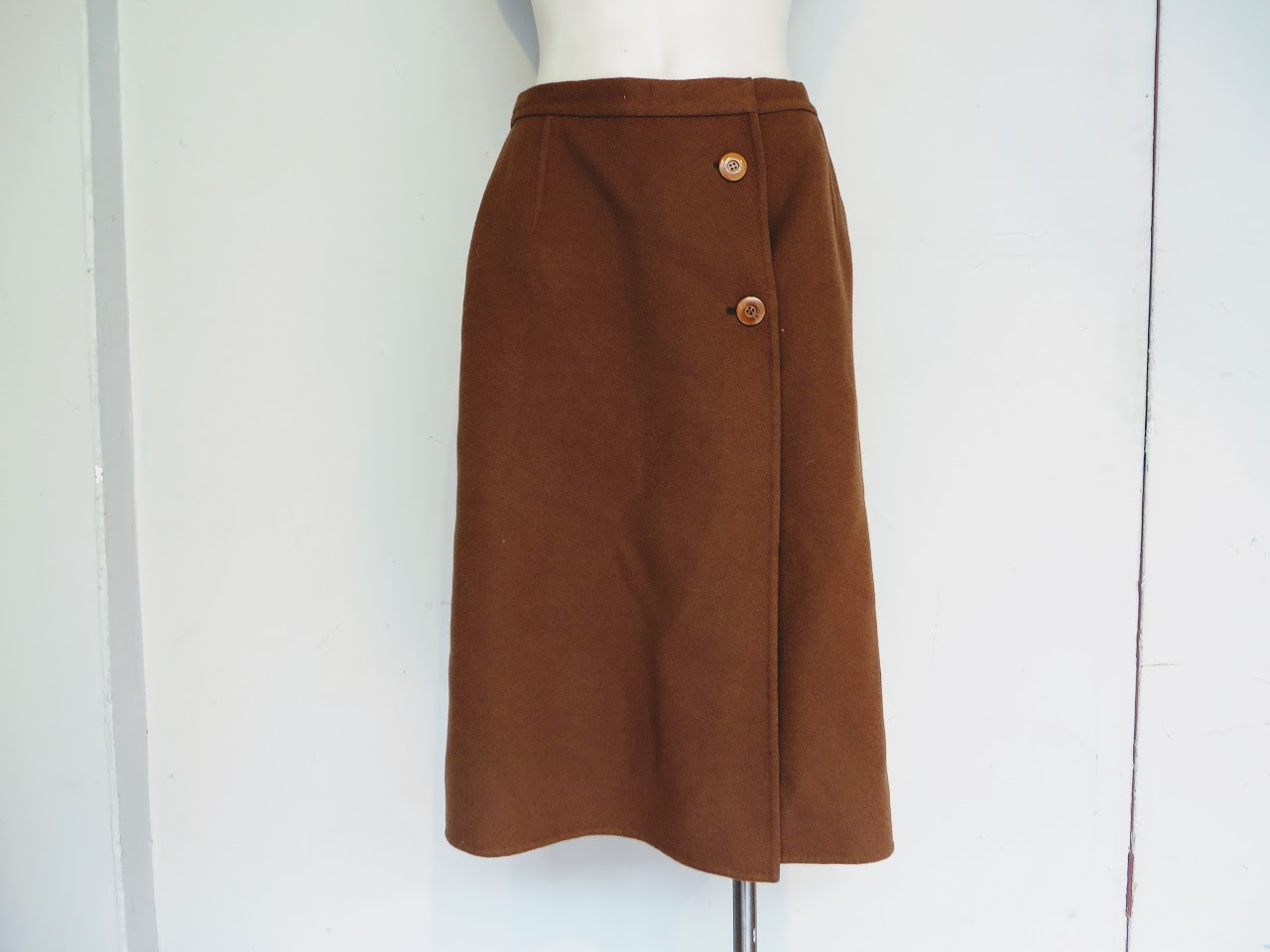 Gucci Wool Wrap Skirt