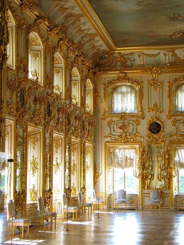 El Palacio de Verano de San Petersburgo Rusia