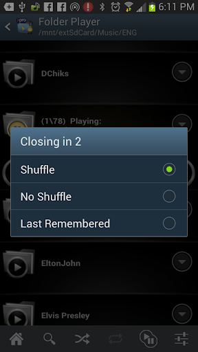 Folder Player Pro for Android