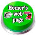 Homer's Web Page Button icon