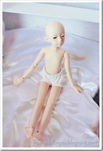 A bjd with his new body.