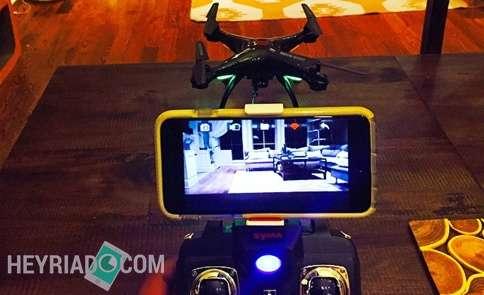 Sebelum sanggup merekam video dan berfoto selfie dari udara memakai RC drone Cara Koneksikan Kamera Drone ke Android