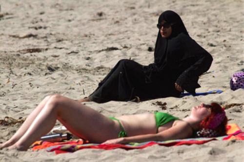 Beach burka