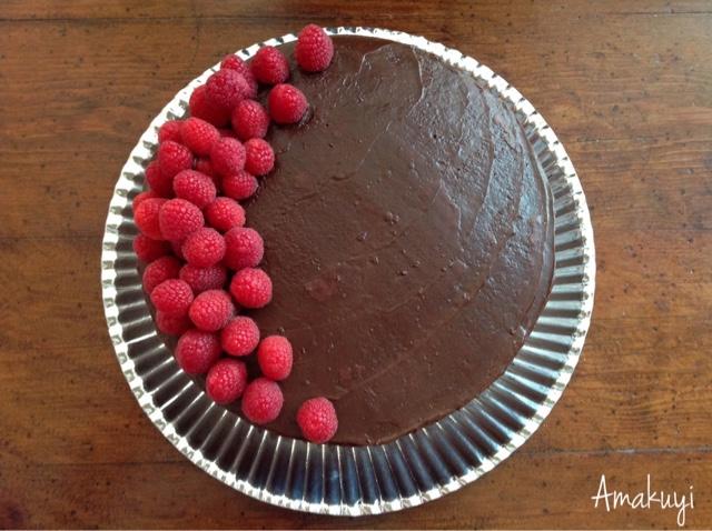 Bizcocho-chocolate-frambuesa-tarta-receta
