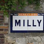 Plaque Michelin : Milly Seine-et-Oise