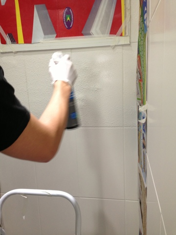O azulejista como colar colocar aplicar pastilha de for Como colocar azulejo