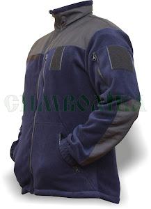 Куртка флісова темно-синя