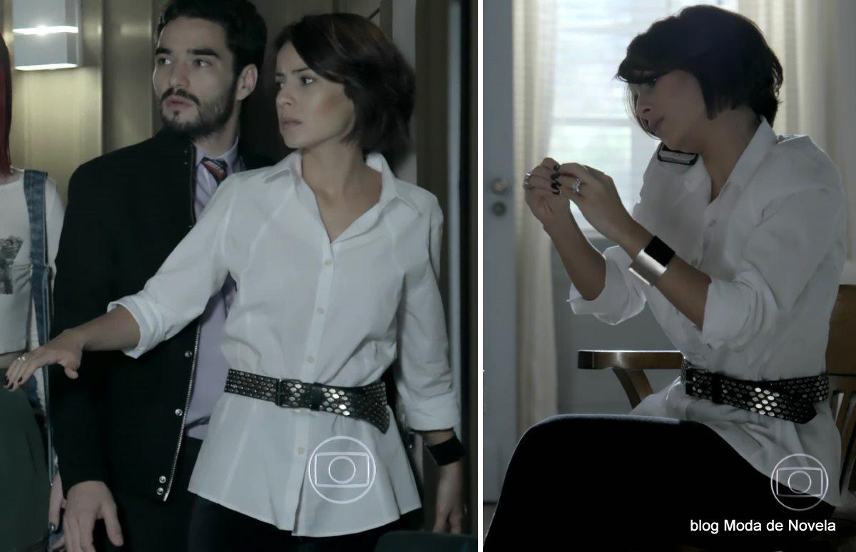 moda da novela Império - look da Maria Clara dia 22 de agosto
