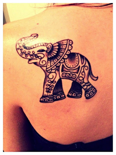 70 best elephant tattoo designs and ideas tattoosme. Black Bedroom Furniture Sets. Home Design Ideas