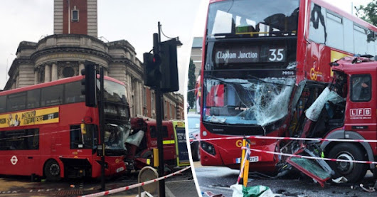 Where Buses Go, Taxis Go : 6,725 Were Killed Or Injured By London Buses Last Year, Yet It's Taxis Being Banned From London Streets