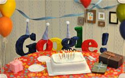 Google празднует день рождения три раза и все в одном месяце!