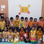 Basant Panchami Celebrated by Nursery Morning Section at Witty World, Chikoowadi (2017-18)