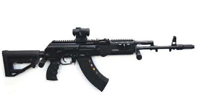 ak 203 / ak 103 rifle india russia contrct