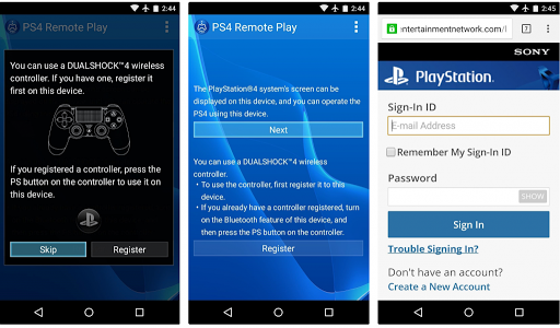 ps4 remote play app