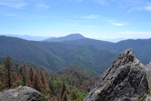 Black and Split Mountains