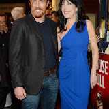WWW.ENTSIMAGES.COM -     Toby Stephens and Catherine Schreiber  arriving  at      The Scottsboro Boys - press night at Garrick Theatre, Charing Cross Road, London October 20th 2014Kander and Ebb's provocative musical about the true story of nine young black men falsely accused of raping two white women.                                                   Photo Mobis Photos/OIC 0203 174 1069