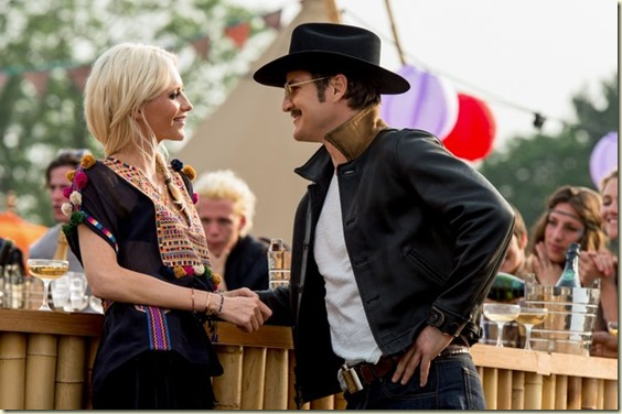 """Poppy Delevingne and Pedro Pascal star in Twentieth Century Fox's """"Kingsman: The Golden Circle."""""""